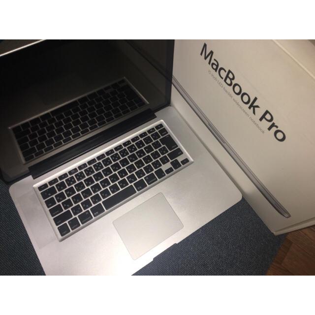 Mac (Apple)(マック)のMacBook Pro 15インチ Late 2008《箱あり》 スマホ/家電/カメラのPC/タブレット(ノートPC)の商品写真