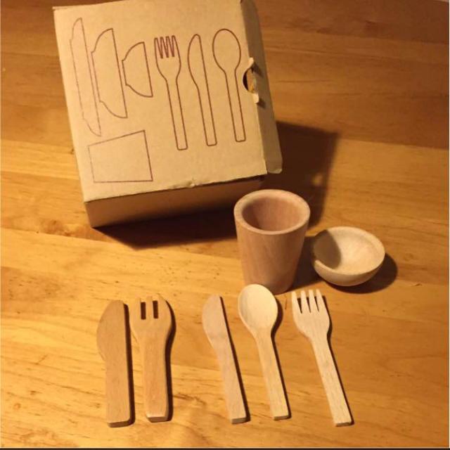 MUJI (無印良品)(ムジルシリョウヒン)の無印 おままごと キッチンツール ハンドメイドのキッズ/ベビー(おもちゃ/雑貨)の商品写真