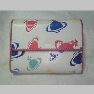 ヴィヴィアンウエストウッド(Vivienne Westwood)の■中古■ヴィヴィアン 白 オーブ 財布(財布)