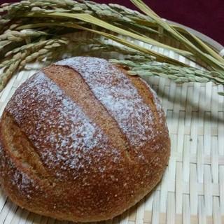 8日限定受注 焼きたて米糠カンパーニュ4個セット(パン)