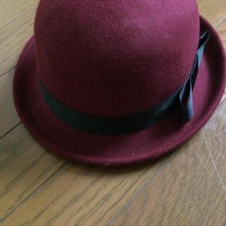シマムラ(しまむら)の赤いハット帽(ハット)