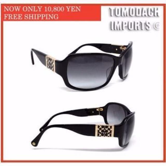 bd2bd4bfeac4 COACH - COACH Nina Sunglasses サングラスの通販 by Tomodachi 's shop ...