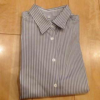 MUJI (無印良品) - 無印 ストライプシャツの通販 by ten|ムジルシリョウヒンならラクマ