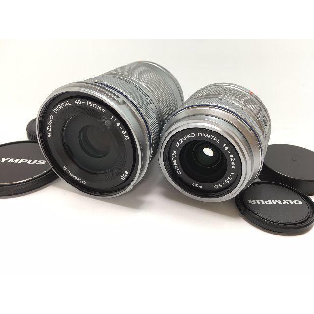 OLYMPUS(オリンパス)の送料無料 OLYMPUS オリンパス PEN LITE E-PL3 ダブルズーム スマホ/家電/カメラのカメラ(ミラーレス一眼)の商品写真