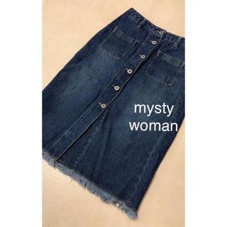 ミスティウーマン(mysty woman)のmysty woman(ひざ丈スカート)