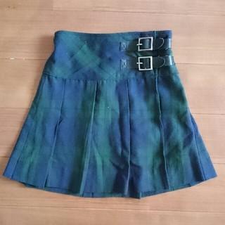 ムジルシリョウヒン(MUJI (無印良品))の無印良品 チェックスカート 100㎝(スカート)