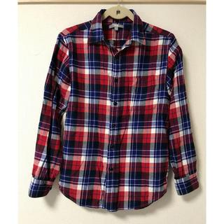 ユニクロ(UNIQLO)のUNIQLO ユニクロ  フランネルシャツ sizeS(シャツ)