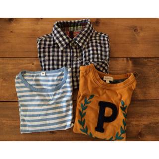 ムジルシリョウヒン(MUJI (無印良品))のサイズ100 子供服 男の子 まとめ売り (Tシャツ/カットソー)