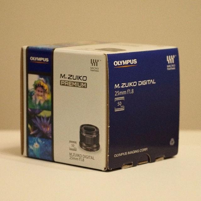 OLYMPUS(オリンパス)のオリンパス M.ZUIKO DIGITAL 25mm F1.8 スマホ/家電/カメラのカメラ(その他)の商品写真