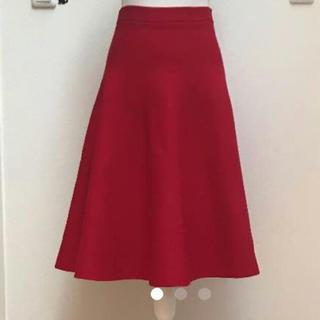 ルシェルブルー(LE CIEL BLEU)のルシェルブルー 形が綺麗なスカート(ひざ丈スカート)