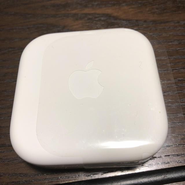 iPhone(アイフォーン)のiPhone アイフォン イヤホン 正規品です② スマホ/家電/カメラのオーディオ機器(ヘッドフォン/イヤフォン)の商品写真