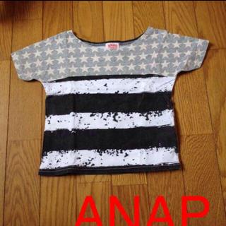アナップキッズ(ANAP Kids)のボーダーTシャツ(その他)