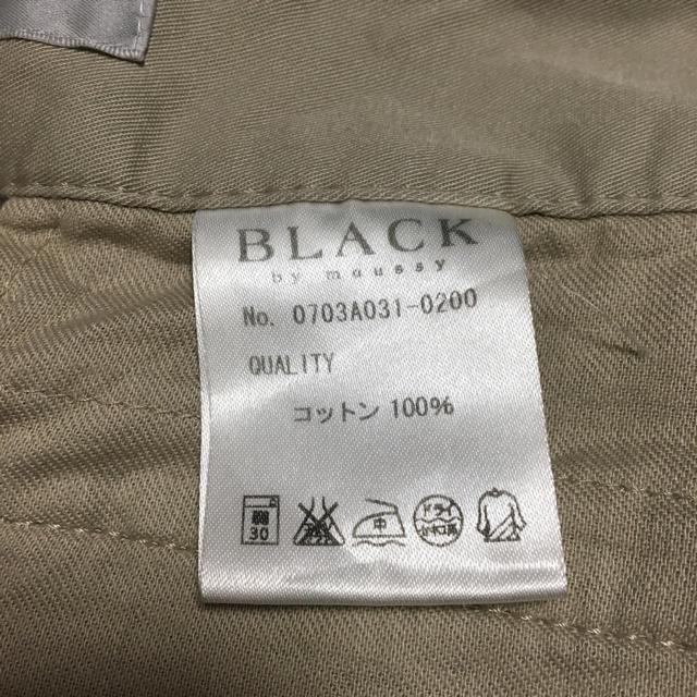 BLACK by moussy(ブラックバイマウジー)のBLACK by moussy レディースのパンツ(ショートパンツ)の商品写真