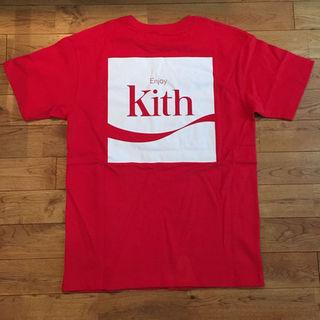 シュプリーム(Supreme)のKITH X COCA-COLA ENJOY TEE - RED サイズL(その他)