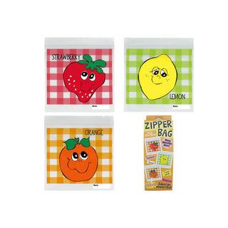 ジッパーバッグ 袋 新品 フルーツ zipper bag fruits(その他)