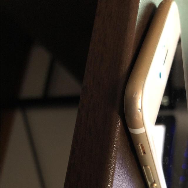 iPhone(アイフォーン)のiphone6 64GB Gold スマホ/家電/カメラのスマートフォン/携帯電話(スマートフォン本体)の商品写真