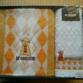 マックレガー(McGREGOR)のMcGREGOR☆ムーミン☆プーさん☆MAKOTO MURAMATUタオルセット(タオル/バス用品)