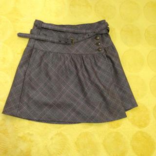 バーバリー(BURBERRY)のバーバリーまきスカート(ひざ丈スカート)