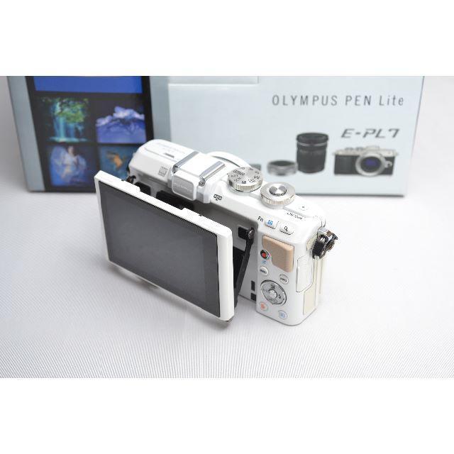 OLYMPUS(オリンパス)の★インスタ映えする撮影に最適★E-PL7 レンズセット スマホ/家電/カメラのカメラ(ミラーレス一眼)の商品写真