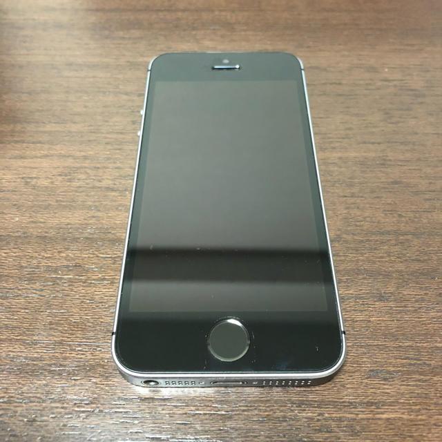 iPhone(アイフォーン)のiphonese 64g スペースグレー ソフトバンク スマホ/家電/カメラのスマートフォン/携帯電話(スマートフォン本体)の商品写真