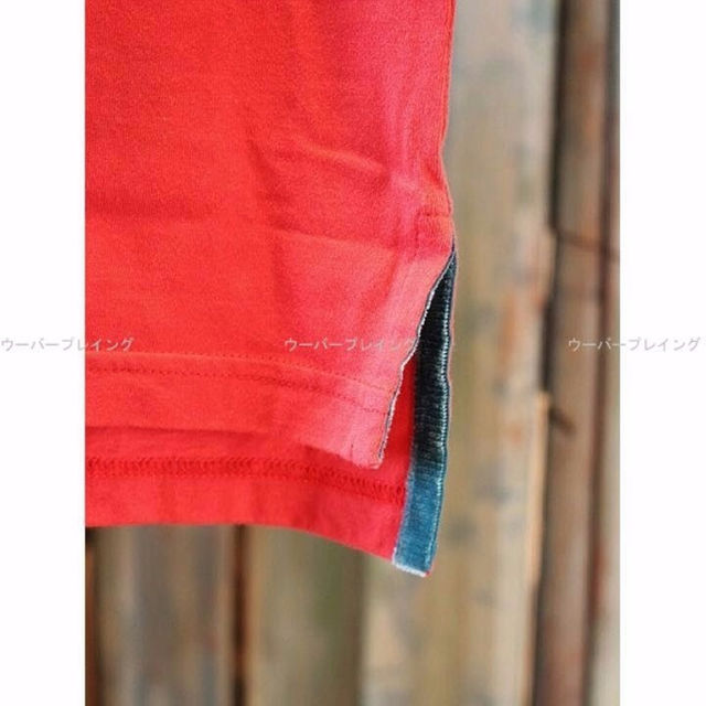TAKUYA∞ 着用 着 Bロゴ Tシャツ 赤 BURNOUT クロスドアロー メンズのトップス(その他)の商品写真