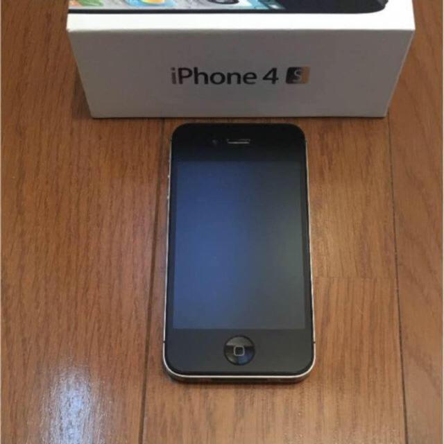 iPhone(アイフォーン)のiPhone4s 32GB 美品 スマホ/家電/カメラのスマートフォン/携帯電話(スマートフォン本体)の商品写真