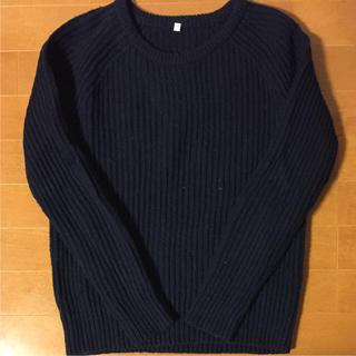 ムジルシリョウヒン(MUJI (無印良品))の美品!お買い得!MUJIクルーネックセーター(ニット/セーター)