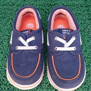 セダークレスト スニーカー スリッポン シューズ 靴 17センチ