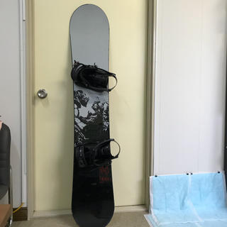 ナイトロ(NITRO)の送料込み スノーボード NITRO150cm  ビンディング K2セットカバー付(ボード)