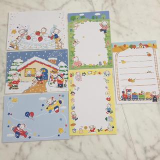 ファミリア(familiar)の【ファミリア】ポストカード6枚セット♡(使用済み切手/官製はがき)