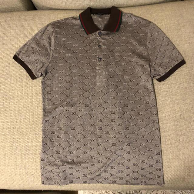 pretty nice fea60 f50d7 【大幅値下げ‼️】GUCCI ポロシャツ | フリマアプリ ラクマ
