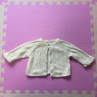 ベビーギャップ(babyGAP)のbaby GAP/ベビーギャップ 縄編みカーディガン 3〜6ヶ月(その他)