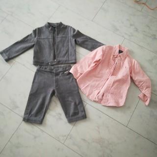 ポロラルフローレン(POLO RALPH LAUREN)の男の子 スーツ セット コムサイズム ラルフローレン 100(ドレス/フォーマル)
