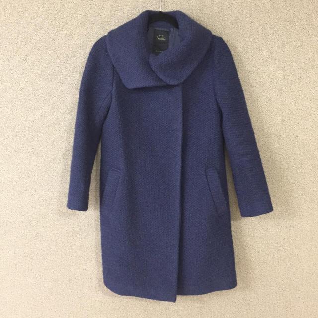 Noble(ノーブル)のNoble コート レディースのジャケット/アウター(ガウンコート)の商品写真