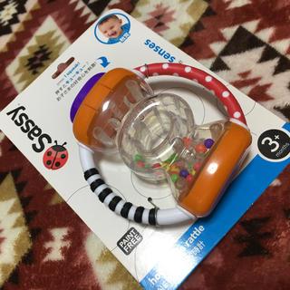 サッシー(Sassy)の未使用♡sassy NEWラトル 3ヵ月〜 ♡赤ちゃん おもちゃ (がらがら/ラトル)