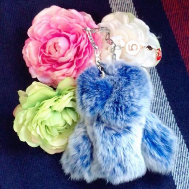 ✨シャネルストール付きフワフワキーケース✨ レディースのファッション小物(キーケース)の商品写真