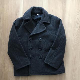 ムジルシリョウヒン(MUJI (無印良品))の美品  無印  Pコート ウールコート  110  (ジャケット/上着)