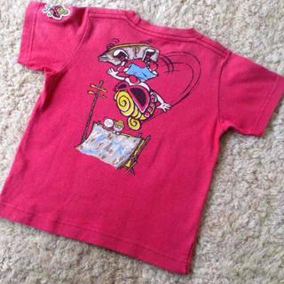 ヒステリックミニ(HYSTERIC MINI)のヒステリックミニ♡赤のTシャツ(その他)