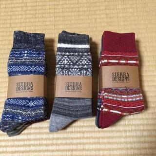 シェラデザイン(SIERRA DESIGNS)のSIERRA DESIGNS ソックス 靴下 ロング ネイティブ (レッグウォーマー)