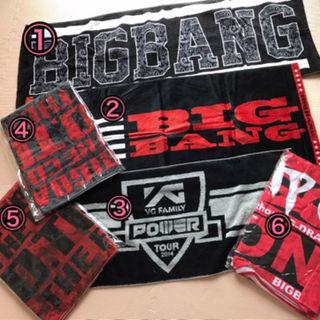 BIGBANG タオル(ミュージシャン)