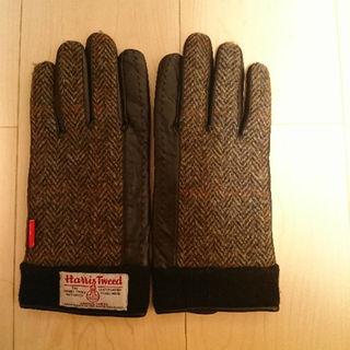 ダブルタップス(W)taps)のwtaps HARRIS TWEED 手袋(手袋)