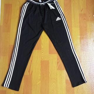 アディダス(adidas)のアディダス クラシックストライプ 長ズボン Lサイズ ブラック(チノパン)