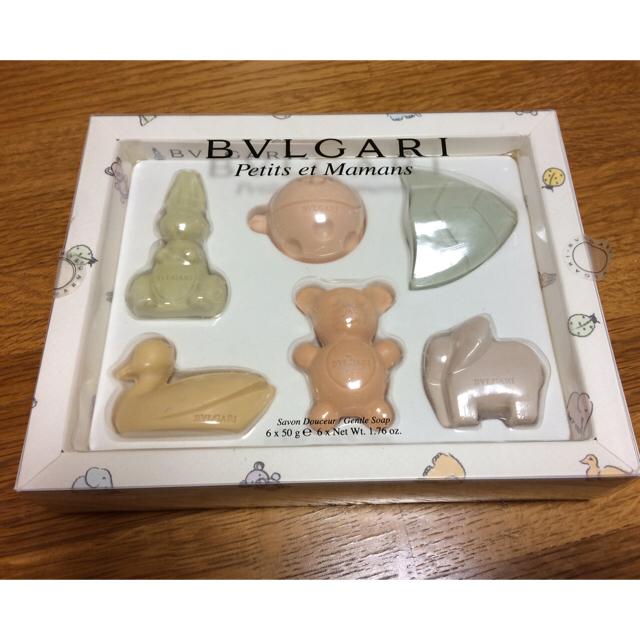 BVLGARI(ブルガリ)のブルガリ プチママン ソープ コスメ/美容のボディケア(ボディソープ / 石鹸)の商品写真