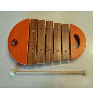 ボーネルンド(BorneLund)の[値下げしました]ボーネルンド おさかなシロフォン(楽器のおもちゃ)