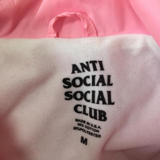 antisocialsocialclubコーチジャケット レディースのジャケット/アウター(ナイロンジャケット)の商品写真
