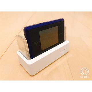 エヌイーシー(NEC)の【送料込み】WIMAX 2+ WX03 専用クレードル付(PC周辺機器)