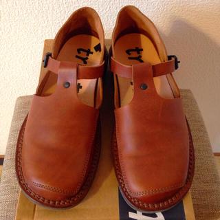 トリッペン(trippen)のTrippen トリッペン Tストラップシューズ 37(ローファー/革靴)