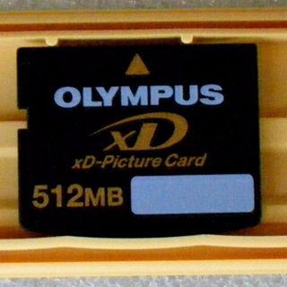 オリンパス(OLYMPUS)の最終値下げ:xDピクチャーカード 512MB(オリンパス)【中古】(その他)