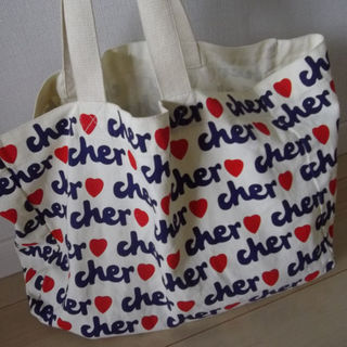 シェル(Cher)のcher★シェル★エコトートバッグ(トートバッグ)