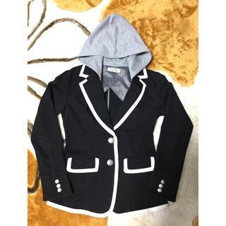 バイバイ(ByeBye)のジャケット、レディース、黒(テーラードジャケット)